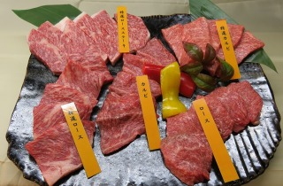 長崎和牛豪華5種盛り 【5人前】