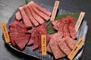 長崎和牛豪華5種盛り